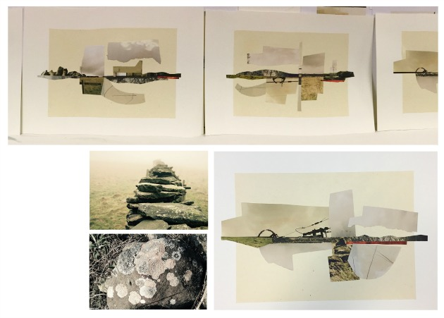 RIDGE - photographs and assemblages by artist Mike Thorpe