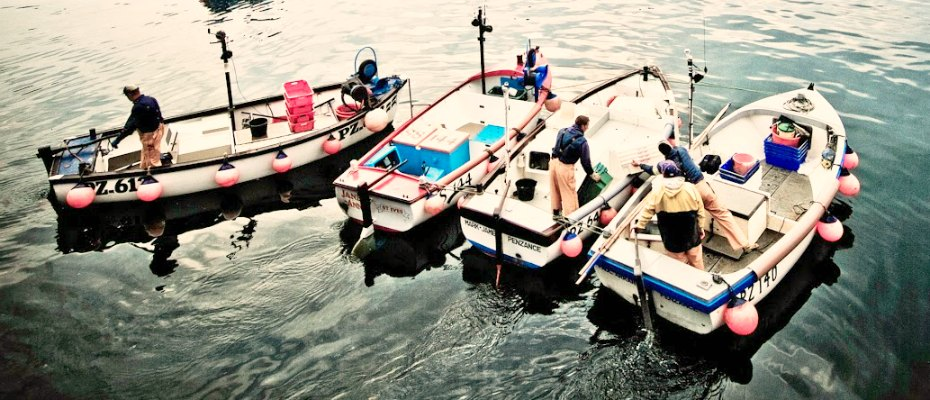 WORKING FISHING PORT