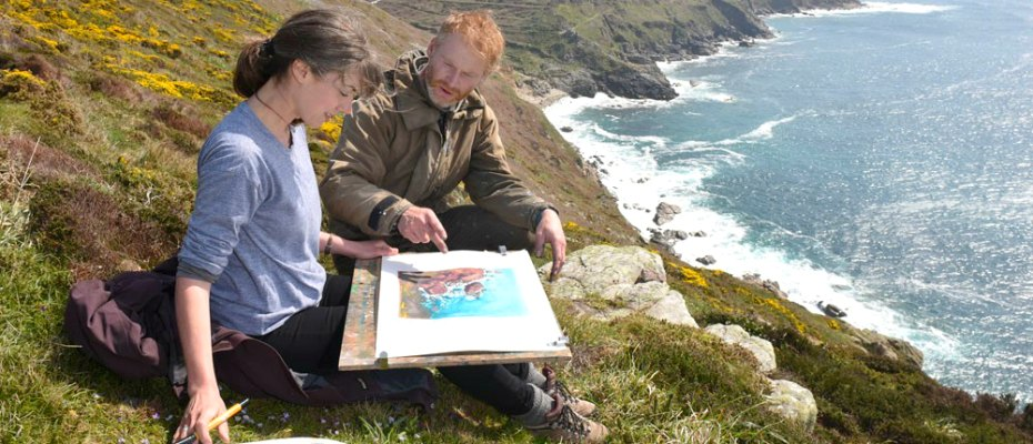PAINTING COURSES IN CORNWALL