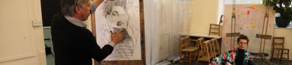 Online Life Drawing Evening Class Newlyn Cornwall