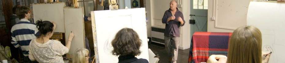 Life Drawing Evening Class Penzance Cornwall