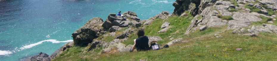 Cornish Landscapes outdoor painting course cornwall