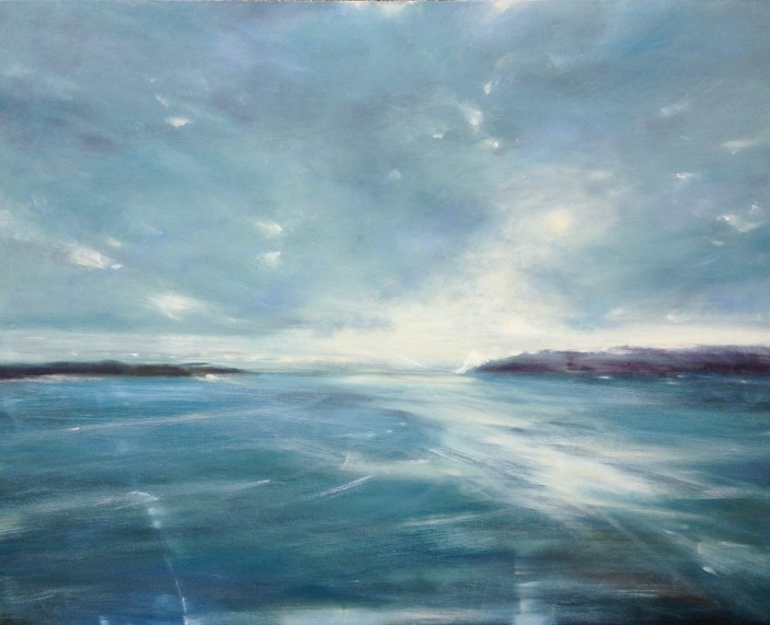 Painting by Maggie O'Brien artist Island Light